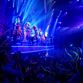 Impersonations at Coco Bongo