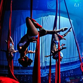 Acrobatics at Coco Bongo