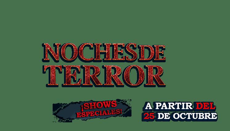 Ahora en Coco Bongo: Horror Nights