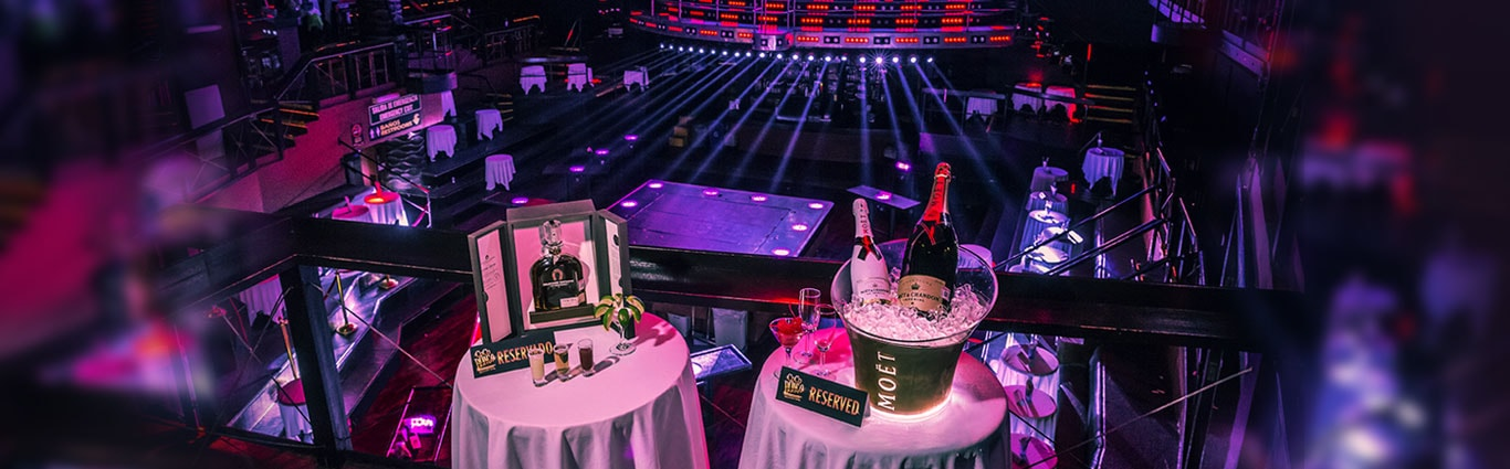 Reserve your table and enjoy Coco vip style